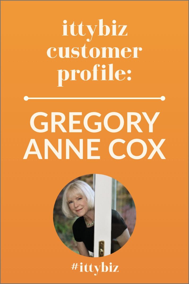 Meet IttyBiz customer Gregory Anne Cox, Wellness Coach!